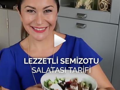 Lezzetli Semizotu Salatası Tarifi